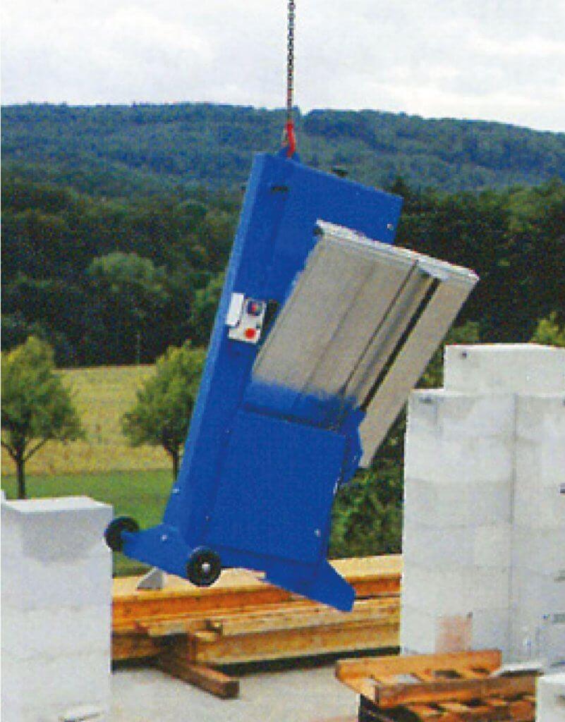 Die Zagro Bandsäge UVB 500 verfügt über einen Transportöse, was es noch einfacher macht sie zu transportieren.